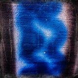 ανασκόπηση που θολώνεται Ίχνη ενός μαύρων ψεκασμού και ενός μπλε στην κυματωγή Στοκ φωτογραφία με δικαίωμα ελεύθερης χρήσης