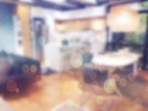 ανασκόπηση που θολώνεται αφηρημένη Εσωτερικό κατάστημα επίπλων Στοκ φωτογραφία με δικαίωμα ελεύθερης χρήσης