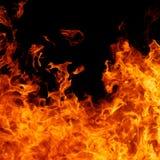 Ανασκόπηση πυρκαγιάς στοκ εικόνες