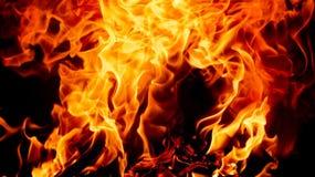 Ανασκόπηση πυρκαγιάς Στοκ φωτογραφία με δικαίωμα ελεύθερης χρήσης