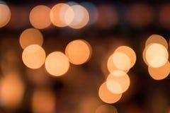 Ανασκόπηση πόλεων νύχτας bokeh Στοκ εικόνα με δικαίωμα ελεύθερης χρήσης