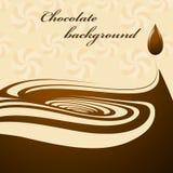 Ανασκόπηση σοκολάτας Στοκ Φωτογραφίες