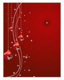 Ανασκόπηση σφαιρών Χριστουγέννων ελεύθερη απεικόνιση δικαιώματος
