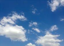 Ανασκόπηση σύννεφων Στοκ Φωτογραφίες