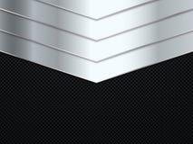 Ανασκόπηση σύστασης μετάλλων ανοξείδωτο περίστροφων 375 φιαλών δύο λίτρων επίσης corel σύρετε το διάνυσμα απεικόνισης Στοκ εικόνες με δικαίωμα ελεύθερης χρήσης