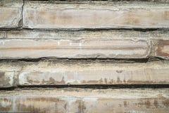 Ανασκόπηση, σύσταση Μέρος του παλαιού πλαισίου τουβλότοιχος γενικά Οριζόντιο πλαίσιο Στοκ Εικόνα