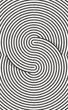 Ανασκόπηση τέχνης γραμμών Στοκ εικόνα με δικαίωμα ελεύθερης χρήσης