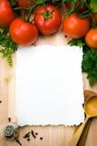 ανασκόπηση τέχνης μαγειρι&k Στοκ εικόνα με δικαίωμα ελεύθερης χρήσης
