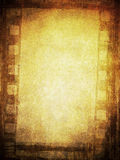 Ανασκόπηση ταινιών Grunge Στοκ Φωτογραφία
