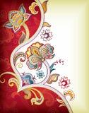 ανασκόπηση της Ασίας floral απεικόνιση αποθεμάτων
