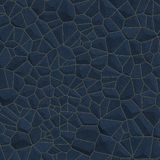 Ανασκόπηση τοίχων μπλε πετρών Στοκ Εικόνα