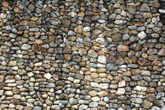 Ανασκόπηση τοίχων πετρών - ένας παλαιός τοίχος πετρών Στοκ Εικόνες