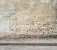Ανασκόπηση τοίχων Grunge Στοκ φωτογραφία με δικαίωμα ελεύθερης χρήσης