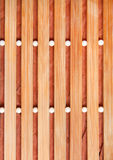 Ανασκόπηση του μπεζ ξύλινου χαλιού Στοκ Φωτογραφίες