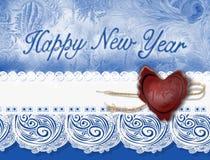 Ανασκόπηση του νέου έτους στοκ φωτογραφία