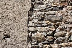 Ανασκόπηση του τοίχου πετρών Στοκ Φωτογραφία