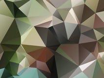 Ανασκόπηση τριγώνων διανυσματική απεικόνιση