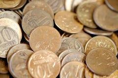Ανασκόπηση των νομισμάτων Στοκ εικόνα με δικαίωμα ελεύθερης χρήσης