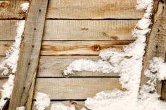 Ανασκόπηση των παλαιών ξύλινων σανίδων Στοκ Εικόνες
