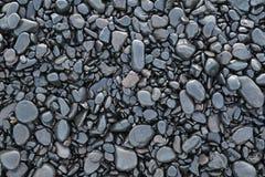 Ανασκόπηση των υγρών μαύρων χαλικιών Στοκ φωτογραφία με δικαίωμα ελεύθερης χρήσης