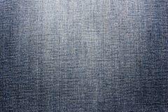 Ανασκόπηση υφάσματος στενή καλυμμένη τζιν σύσταση επάνω Τεμάχιο του παντελονιού τζιν στοκ φωτογραφία