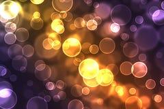 Ανασκόπηση φω'των Brights απεικόνιση αποθεμάτων