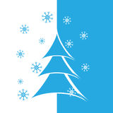 Ανασκόπηση χαιρετισμού Χριστουγέννων Στοκ Φωτογραφία