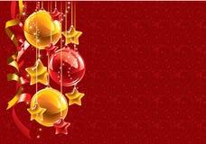 Ανασκόπηση Χριστουγέννων. Διάνυσμα. Στοκ εικόνες με δικαίωμα ελεύθερης χρήσης