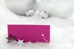 Ανασκόπηση Χριστουγέννων με το διάστημα αντιγράφων Στοκ εικόνα με δικαίωμα ελεύθερης χρήσης