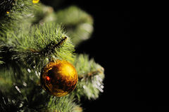 Ανασκόπηση Χριστουγέννων με το διάστημα για το κείμενο Στοκ Φωτογραφίες