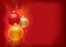 Ανασκόπηση Χριστουγέννων Στοκ εικόνες με δικαίωμα ελεύθερης χρήσης