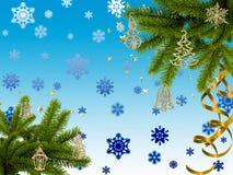 Ανασκόπηση Χριστουγέννων. ελεύθερη απεικόνιση δικαιώματος