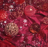 Ανασκόπηση Χριστουγέννων Στοκ εικόνα με δικαίωμα ελεύθερης χρήσης