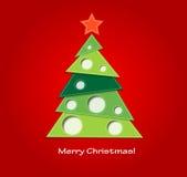 Ανασκόπηση Χριστουγέννων Απεικόνιση αποθεμάτων