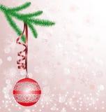 Ανασκόπηση Χριστουγέννων Στοκ Φωτογραφίες