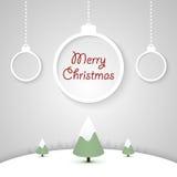 Ανασκόπηση Χριστουγέννων. Στοκ Εικόνες