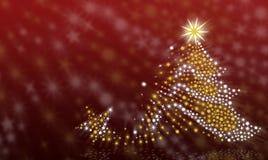 Ανασκόπηση χριστουγεννιάτικων δέντρων στοκ εικόνες