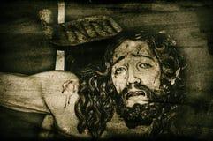 ανασκόπηση Χριστός Ιησούς Στοκ Φωτογραφίες