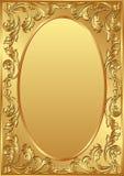 ανασκόπηση χρυσή Στοκ Εικόνες