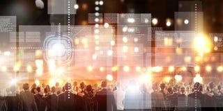 ανασκόπηση ψηφιακή Στοκ εικόνες με δικαίωμα ελεύθερης χρήσης