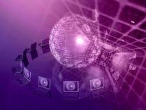 ανασκόπηση ψηφιακή Στοκ εικόνα με δικαίωμα ελεύθερης χρήσης