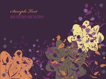 ανασκόπηση 19 floral Στοκ Εικόνες