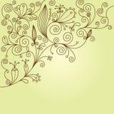 ανασκόπηση floral Απεικόνιση αποθεμάτων