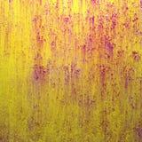 ανασκόπηση grunge κίτρινη Στοκ Εικόνες
