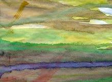 Ανασκόπηση Watercolor Στοκ φωτογραφία με δικαίωμα ελεύθερης χρήσης
