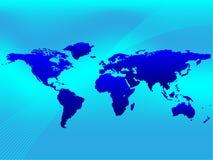 ανασκόπηση worldmap Διανυσματική απεικόνιση