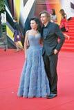 Αναστασία Zavorotniuk στο φεστιβάλ ταινιών της Μόσχας Στοκ Εικόνες