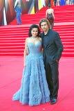 Αναστασία Zavorotniuk στο φεστιβάλ ταινιών της Μόσχας Στοκ εικόνα με δικαίωμα ελεύθερης χρήσης