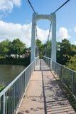 Ανασταλμένη γέφυρα για πεζούς Στοκ εικόνες με δικαίωμα ελεύθερης χρήσης