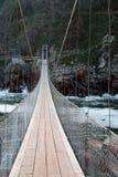αναστολή γεφυρών Στοκ Εικόνες